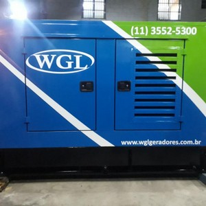 Aluguel de gerador diesel