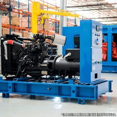 Gerador de energia a diesel partida elétrica