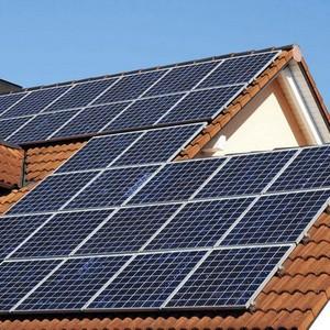 Gerador de energia solar residencial