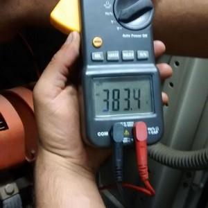 Manutenção corretiva gerador de energia elétrica