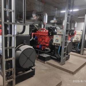 Manutenção em grupos geradores elétricos