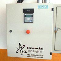 Painel de energia elétrica